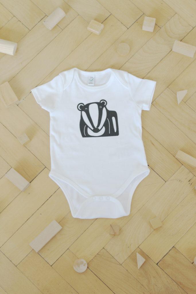 body-jezevec-dětské kojenecké
