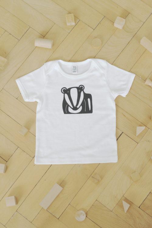 Dětské kojenecké triko jezevec